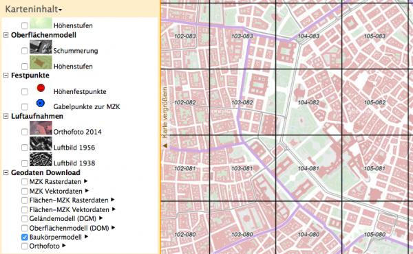Download Geobasisdaten